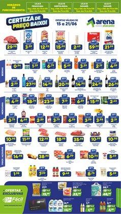 Ofertas de Supermercados no catálogo Arena Atacado (  3 dias mais)