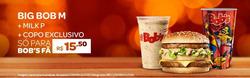 Promoção de Bob's no folheto de Rio de Janeiro