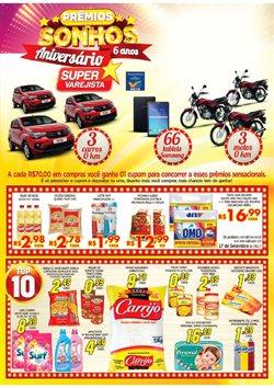 Promoção de Fraldas no folheto de Super Varejista em Belo Horizonte