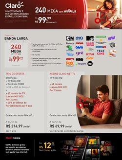 Ofertas Tecnologia e Eletrônicos no catálogo Claro em Juazeiro ( 5 dias mais )