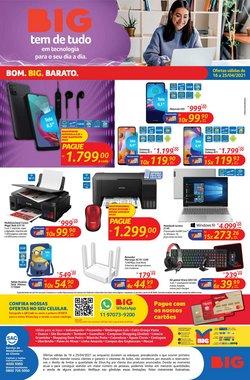 Ofertas Supermercados no catálogo Big em Uberlândia ( Publicado a 2 dias )