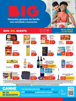 Ofertas de Supermercados no catálogo Big (  3 dias mais)