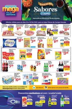 Ofertas de Supermercados no catálogo Comper (  Vence hoje)