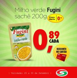 Promoção de Sales Supermercado no folheto de São João del Rei