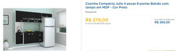 Promoção de Multiloja no folheto de Curitiba