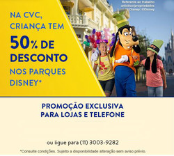 Promoção de CVC no folheto de Belo Horizonte