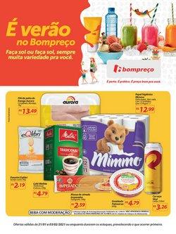 Ofertas Supermercados no catálogo Super Bompreço em Aracaju ( 7 dias mais )