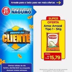Ofertas de Supermercados no catálogo Nagumo (  Válido até amanhã)