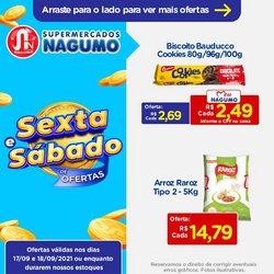Ofertas de Supermercados no catálogo Nagumo (  Vence hoje)