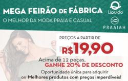 Promoção de Líquido no folheto de São Paulo
