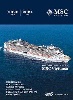 Ofertas Viagens, Turismo e Lazer no catálogo MSC Cruzeiros em Guarulhos ( Mais de um mês )