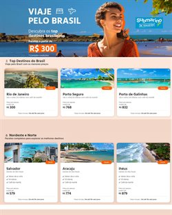 Ofertas Viagens, Turismo e Lazer no catálogo Submarino Viagens ( 3 dias mais )