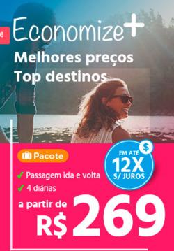 Promoção de Submarino Viagens no folheto de São Paulo