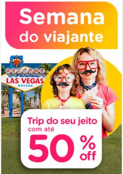 Promoção de Viagens, passeios, turismo no folheto de Submarino Viagens em São Paulo