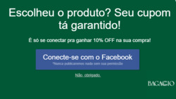 Promoção de Bagaggio no folheto de Rio de Janeiro