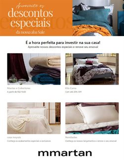 Ofertas Casa e Decoração no catálogo MMartan em Petrópolis ( Vence hoje )