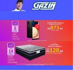 Ofertas de Gazin no catálogo Gazin (  Publicado hoje)