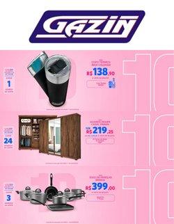 Ofertas de Gazin no catálogo Gazin (  3 dias mais)