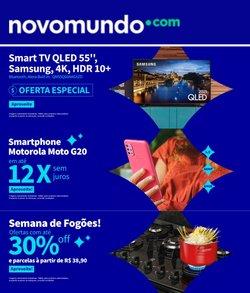 Ofertas de Tecnologia e Eletrônicos no catálogo Novo Mundo (  Publicado hoje)