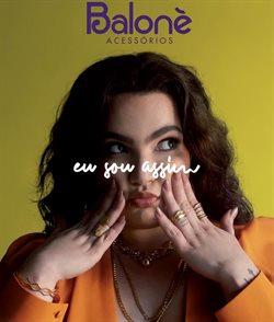 Ofertas Relógios e Joias no catálogo Balonè em São Gonçalo ( Mais de um mês )