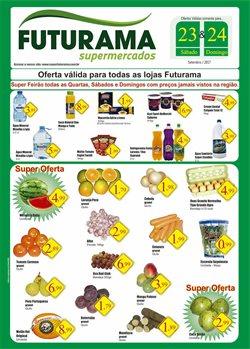 Promoção de Futurama Supermercados no folheto de São Paulo