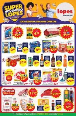 Ofertas Supermercados no catálogo Lopes Supermercados ( 3 dias mais )