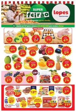 Ofertas Supermercados no catálogo Lopes Supermercados em Mogi das Cruzes ( Vence hoje )