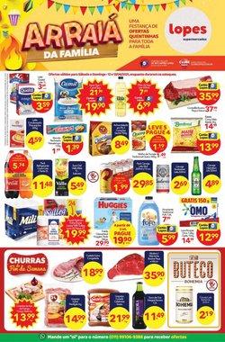 Ofertas de Lopes Supermercados no catálogo Lopes Supermercados (  Válido até amanhã)