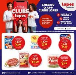 Ofertas de Lopes Supermercados no catálogo Lopes Supermercados (  2 dias mais)