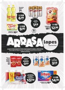 Ofertas de Supermercados no catálogo Lopes Supermercados (  Publicado hoje)