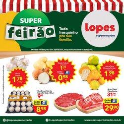 Ofertas de Lopes Supermercados no catálogo Lopes Supermercados (  Vencido)