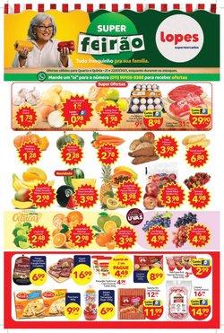 Ofertas de Lopes Supermercados no catálogo Lopes Supermercados (  Vence hoje)