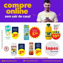 Catálogo Lopes Supermercados (  Publicado ontem)