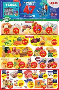 Ofertas de Supermercados no catálogo Lopes Supermercados (  Vence hoje)