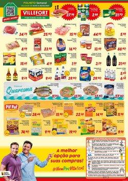Ofertas Supermercados no catálogo Villefort Atacadista em Betim ( Publicado hoje )