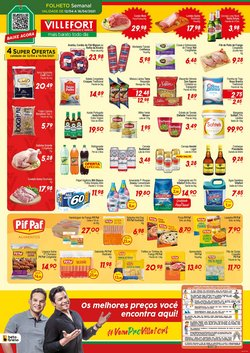 Ofertas Supermercados no catálogo Villefort Atacadista em Juiz de Fora ( 3 dias mais )