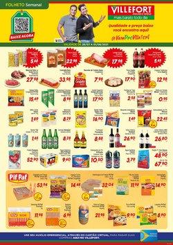 Ofertas de Supermercados no catálogo Villefort Atacadista (  2 dias mais)