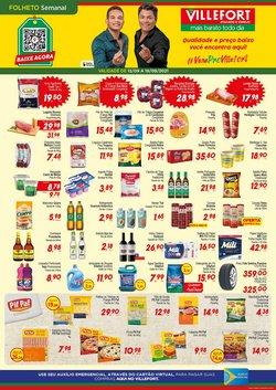 Ofertas de Supermercados no catálogo Villefort Atacadista (  Vence hoje)