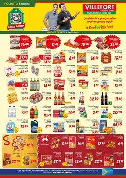 Ofertas de Supermercados no catálogo Villefort Atacadista (  3 dias mais)
