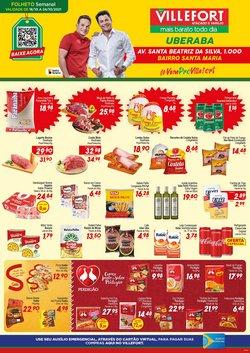 Ofertas de Supermercados no catálogo Villefort Atacadista (  Publicado hoje)