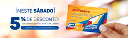 Promoção de Unicompra no folheto de Primavera