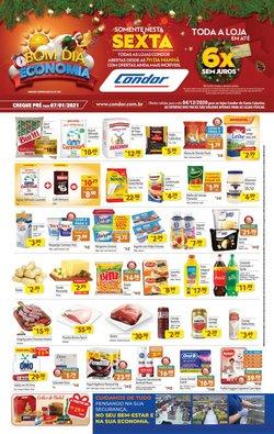Catálogo Supermercados Condor em Joinville ( Vence hoje )