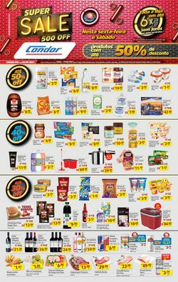 Ofertas de Supermercados no catálogo Supermercados Condor (  Publicado ontem)