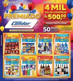 Ofertas de Supermercados no catálogo Supermercados Condor (  Publicado hoje)