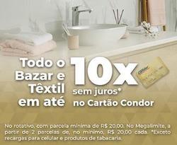 Cupom Supermercados Condor em Curitiba ( 26 dias mais )