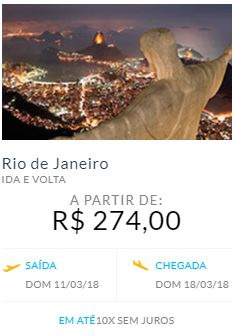 Promoção de Master Turismo no folheto de Belo Horizonte