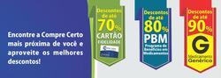 Promoção de Rede Compre Certo no folheto de Uberlândia
