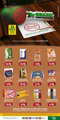 Ofertas de Brasil Supermercados no catálogo Brasil Supermercados (  Vence hoje)