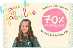 Promoção de Bebês, acessórios e brinquedos no folheto de A Fábula em Niterói