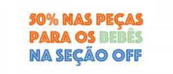 Promoção de Bebês, acessórios e brinquedos no folheto de Alphabeto em São Luís